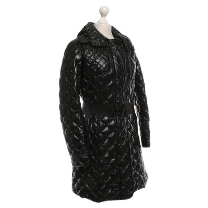Moncler Coat with rhombus quilting