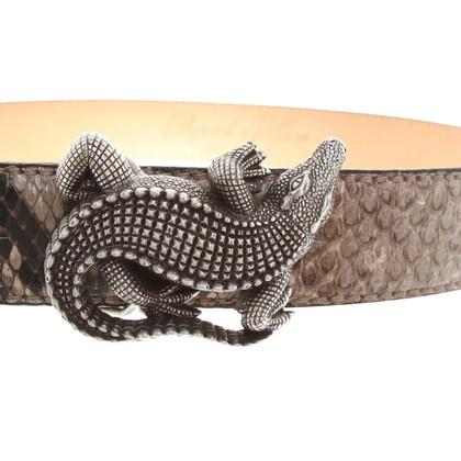 Reptile's House Pythonleder-Gürtel