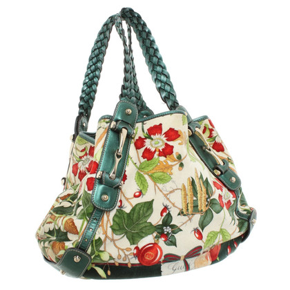 Gucci Handbag with floral pattern