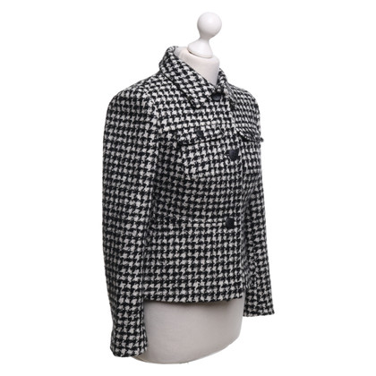 Max Mara Jacket in black / white