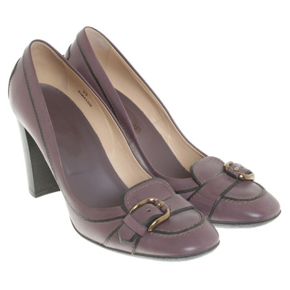Tod's pumps in Viola