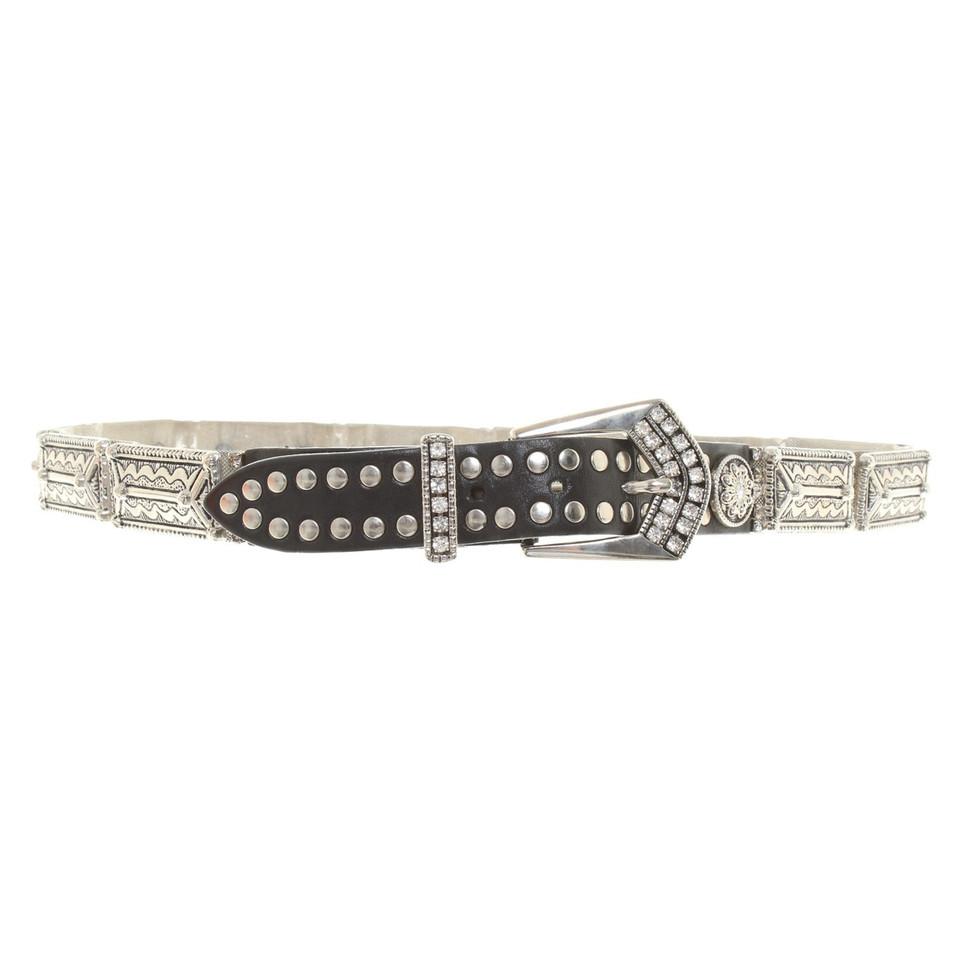 Other Designer Manni - belt with jewelery