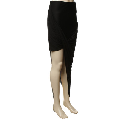 Helmut Lang skirt with drapery