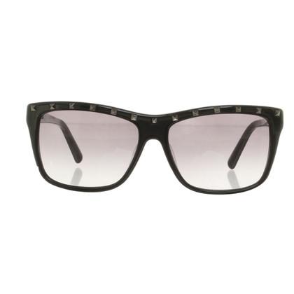 Valentino '' Rockstud '' sunglasses in black