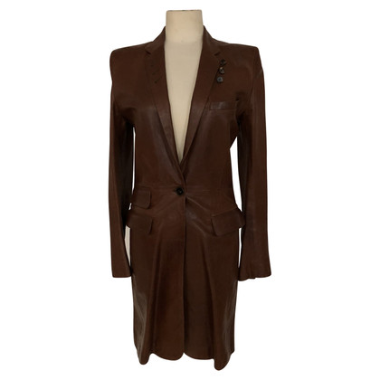Barbara Bui leather coat