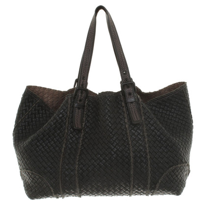 Bottega Veneta Beuteltasche in nero