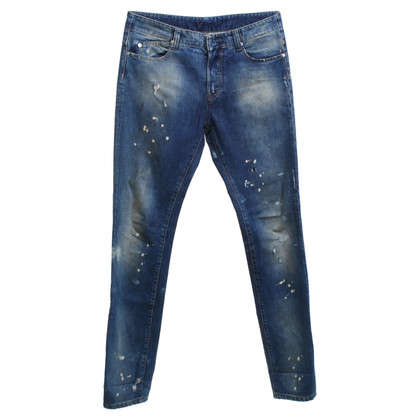Alexander McQueen Jeans in used look