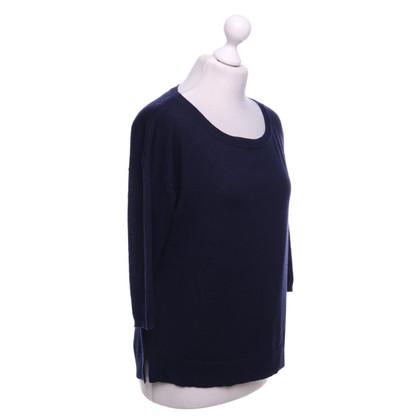 Patrizia Pepe Sweater in donkerblauw