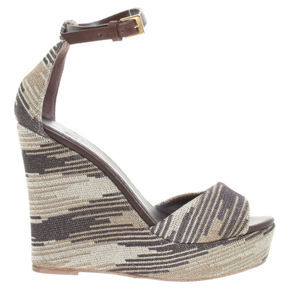 Missoni Wedges with straps