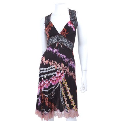 Just Cavalli Jersey dress with lace