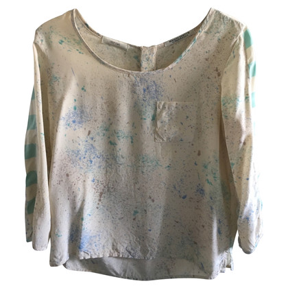 Maison Scotch Blusen-Shirt mit Muster