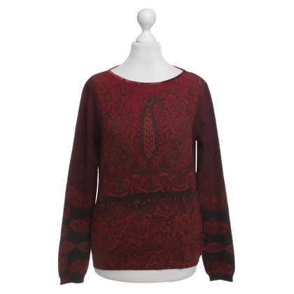 Etro Sweater with paisley pattern