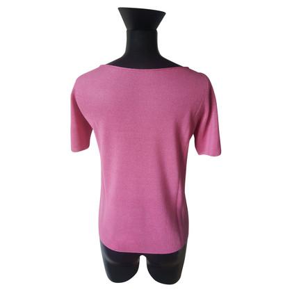 Prada Korte mouwen trui in roze