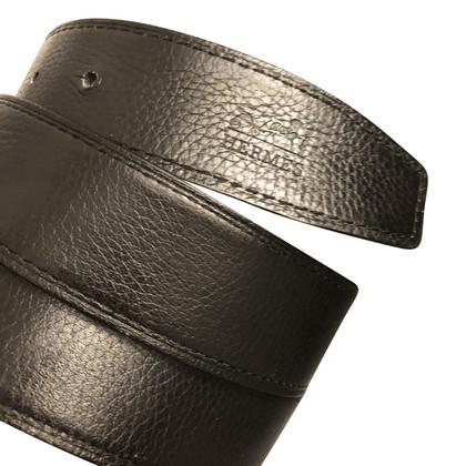 Hermès leather belt