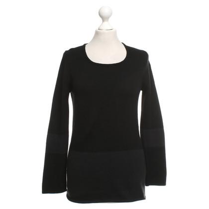 Iris von Arnim maglione di cachemire in nero / antracite
