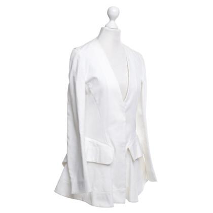 Marni Jeansblazer in het wit