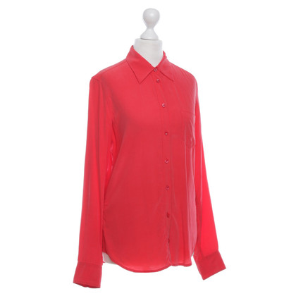 Equipment Bluse in Rot