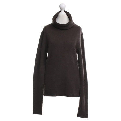 Allude Cashmere sweater in brown