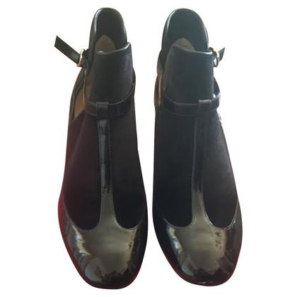 Valentino Stiefel aus Samt