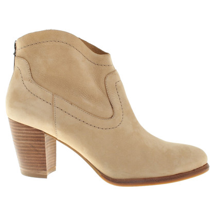 Ugg bottines en cuir beige