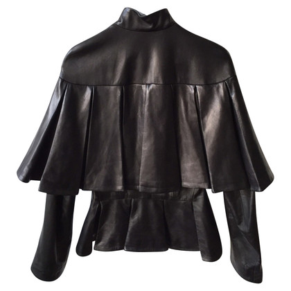 Alexander McQueen Lambskin leather jacket