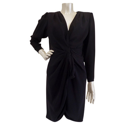 Emanuel Ungaro Black Dress