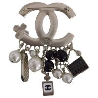 Chanel Brosche mit Charms