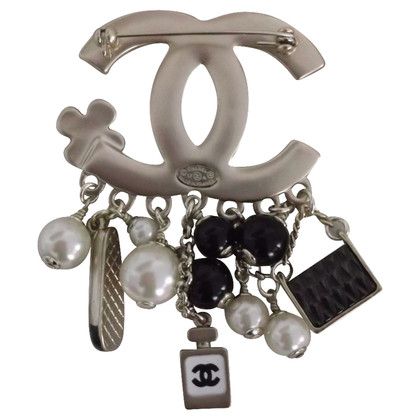 Chanel Brooch with charms