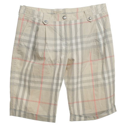 Burberry Shorts Nova ruitpatroon