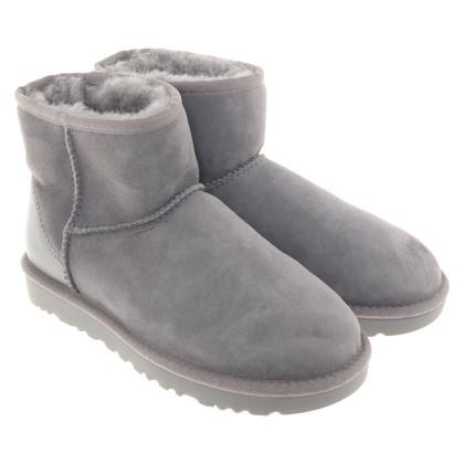 UGG Australia Lambskin Boots in grey