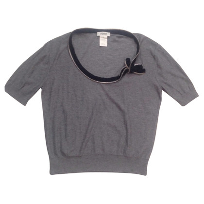 Sonia Rykiel Knitted sweater with short sleeves