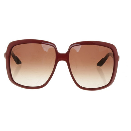 Gucci Sonnenbrille in Rot