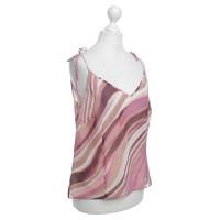 Laurèl Transparent silk top