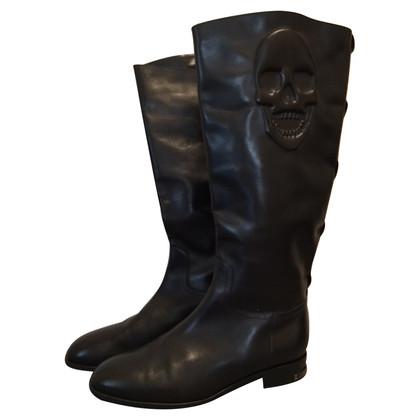 Philipp Plein Leather boots