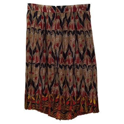 Prada Pleated skirt made of silk