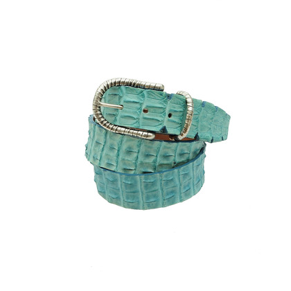Ralph Gladen Crocodile leather belt