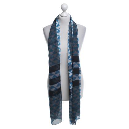 Burberry Langwerpige doek met patronen