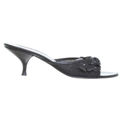 Miu Miu Slippers in black