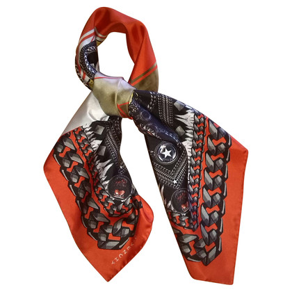 Givenchy Silk scarf with Madonna-print