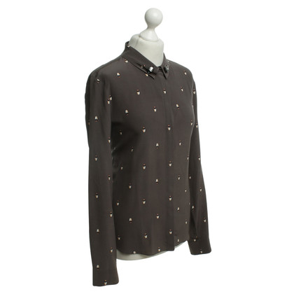 Schumacher Blouse with beetle print
