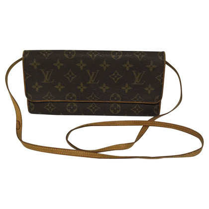 "Louis Vuitton ""Koppeling Twin Monogram Canvas"""