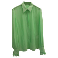 Emilio Pucci Silk blouse in green