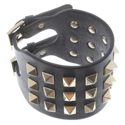 Valentino Leather bracelet with studs
