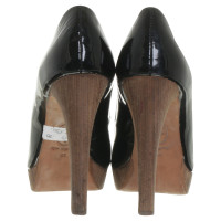 Ash Peep-toes in patent leather