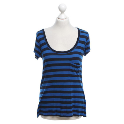 A.L.C. T-shirt with striped pattern