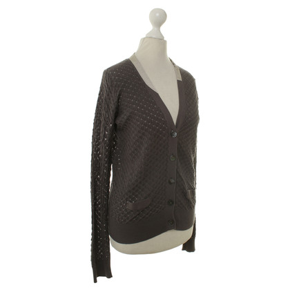 Schumacher Cardigan sweater in Taupe