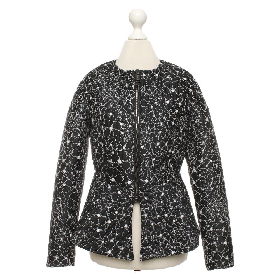 Giamba Paris Jacket with a floral pattern