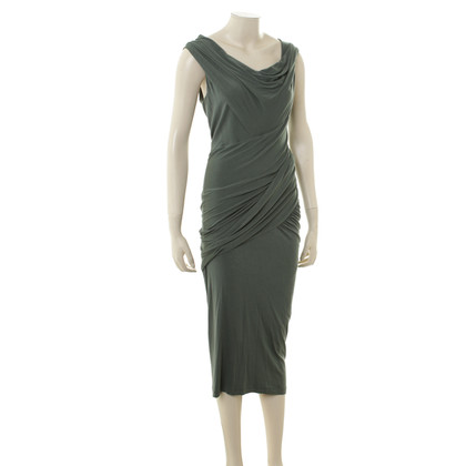 Donna Karan Groene jurk