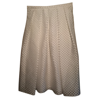 Burberry Prorsum skirt in white