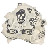 Alexander McQueen White Stole